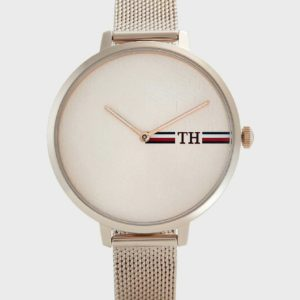 Reloj -tommy Hilfiguer malla metalica color rose gold